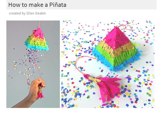 Make A Mini Pinata For Cinco De Mayo
